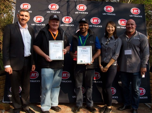 Best UD Fleet Drivers off to Compete in Japan